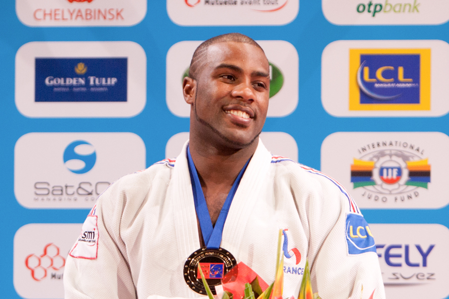 Teddy Riner Back to Competition in Montreal - Judo